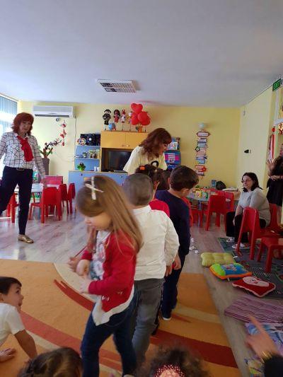Открита практика и вътрешна квалификация при най-малките - ДГ Светла - Пловдив
